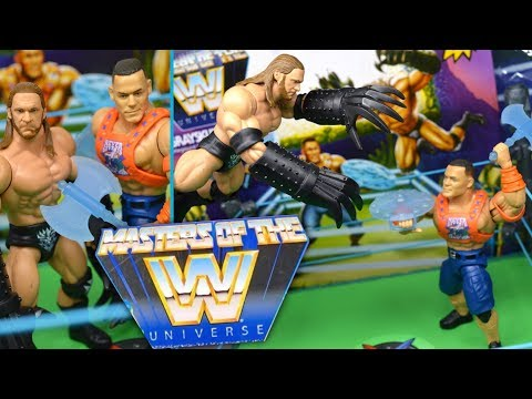 WWE GRAYSKULL MANIA MASTERS OF THE UNIVERSE RING SET REVIEW!