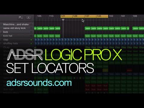 Logic Pro X tutorial -  Set Locators by Region, Events, Marquee (Quick Tips)