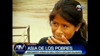 Asia de los pobres: El otro lado del exclusivo balneario