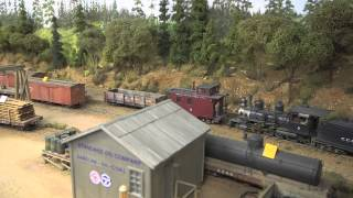 Dave Clune On3 Cascade County Narrow Gauge demo video