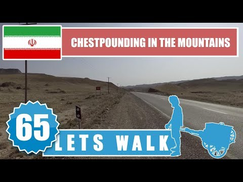 Let's Walk 65: Iran - Chestpounding In The Mountains