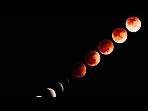 Super Blue Blood Moon Eclipse (Amazing Video Footage) Lunar Eclipse 2018
