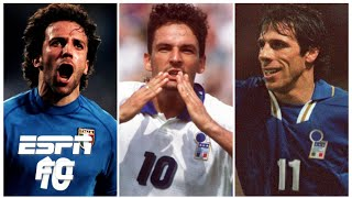 Del Piero Baggio or Zola Which Italy legend was better in their prime Extra Time