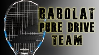 2015 Babolat Pure Drive Team Racquet Review | Tennis Express