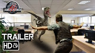 JURASSIC WORLD 3: DOMINION (2021) Trailer #2 - Chris Pratt (Fan Made)