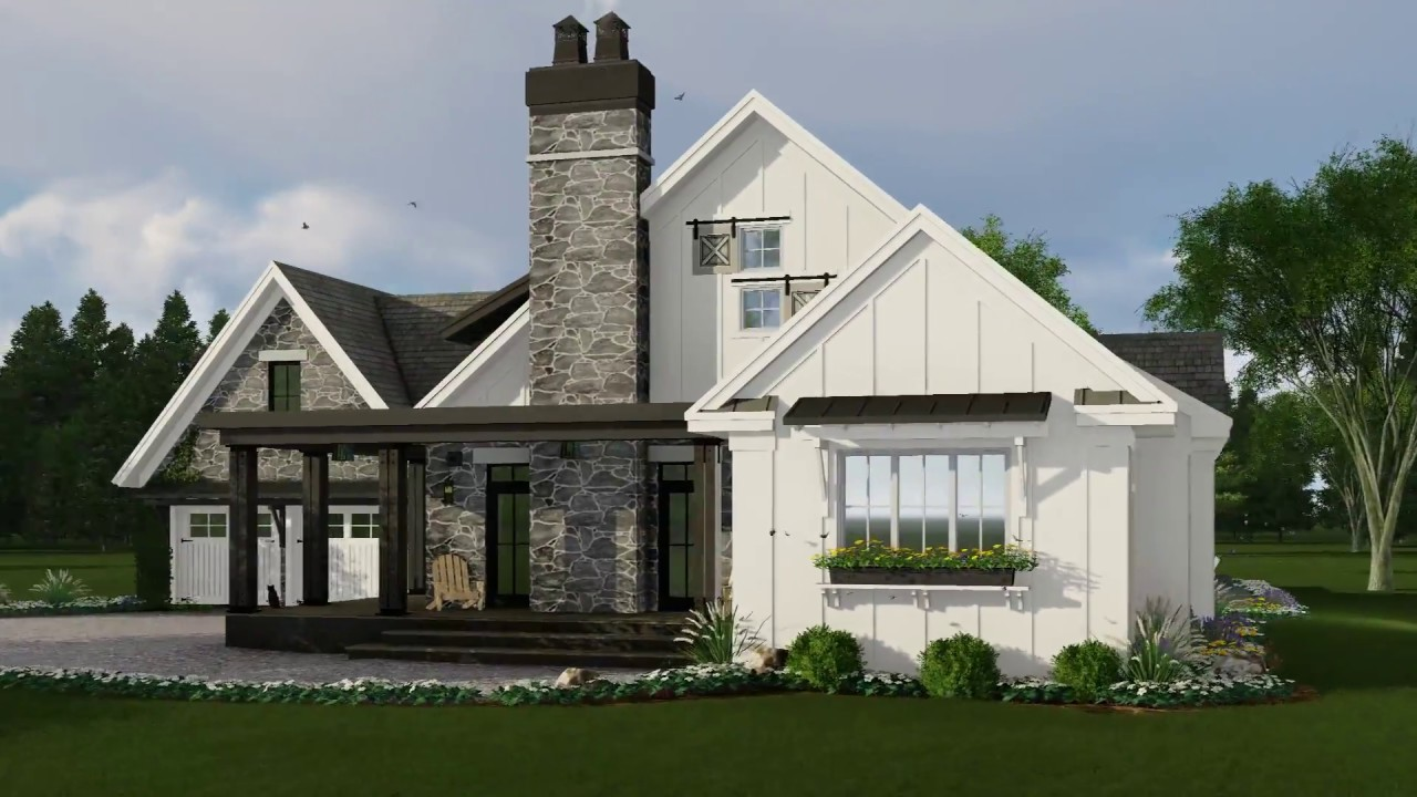 best farmhouse plans modern farmhouse house plan 098 00301 youtube 5647