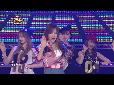T-ara N4 - Jeon Won Diary, 티아라 엔포 - 전원일기, Show champion 20130515