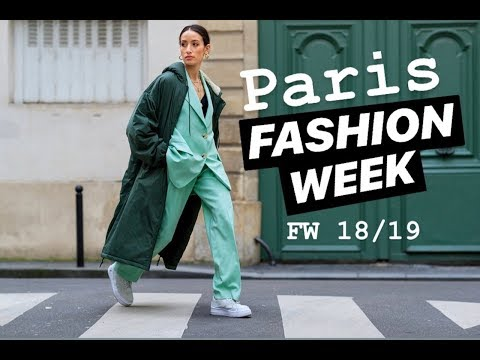 VLOG: PARIS FASHION WEEK FW 18/19