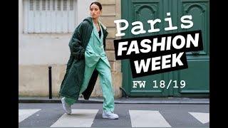 VLOG: PARIS FASHION WEEK FW 18/19