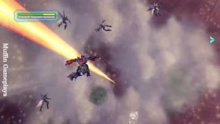 Transformers Revenge of the Fallen Wii Gameplay