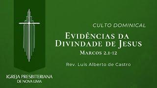 [Culto Dominical] Evidências da Divindade de Jesus | IPNL | 20.09.2020