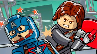 "Lego Marvels Avengers Lack of Insight Bonus Level ""Captain America Winter Soldier"""