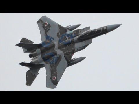 小松基地航空祭2016 飛行教導群教導隊F-15機動飛行 JASDF Aggressors !