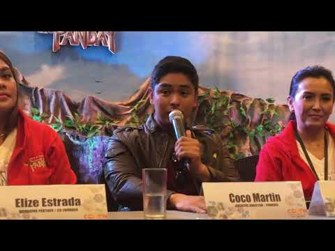 Coco Martin's 2017 birthday wish | ANG PANDAY mobile game app launch