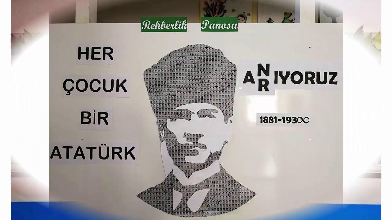 10 Kasim Ataturk U Anma Pano Ornekleri Ve Dokumanlari Youtube
