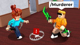 Murder Mystery 2 But I use ADMIN COMMANDS to WIN..