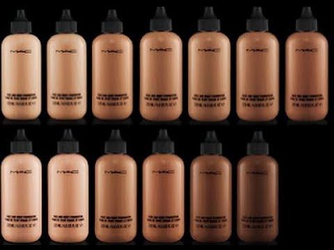Complete guide to mac foundations youtube for Different foundations