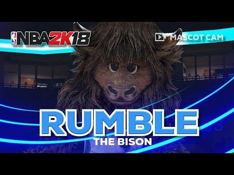 NBA2K18 Mascot Cam | Rumble the Bison (Oklahoma City Thunder)