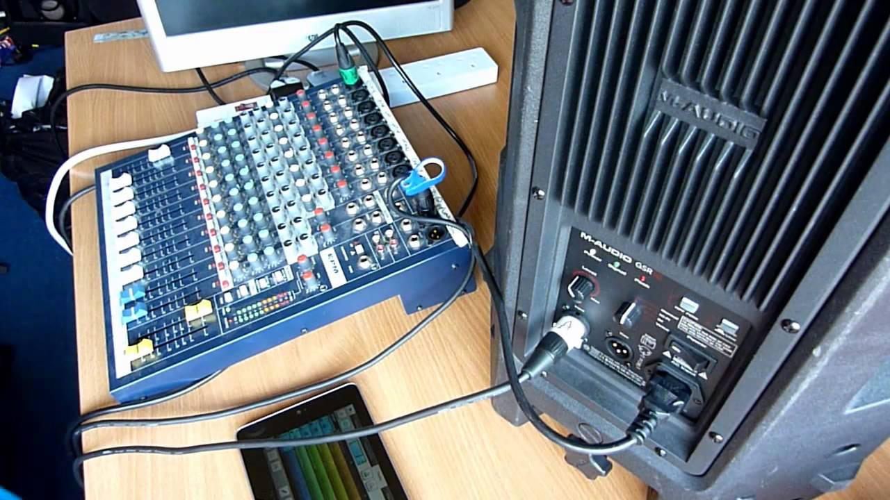 How To Setup A Basic Pa System Youtube