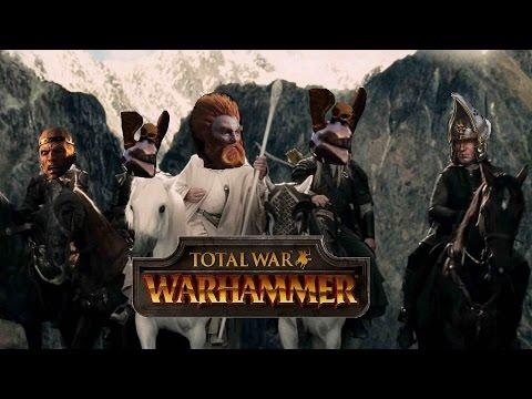Total War Warhammer Online Battle #122: Empire vs Greenskins - THE GRYPHITES ENDURE
