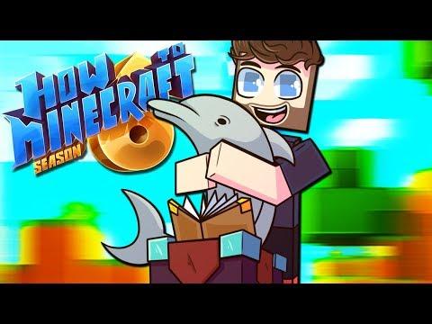 """DOLPHIN FISH TANK!"" - How To Minecraft: Season 6 Episode 13"