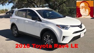 2018 Toyota Rav4 LE Walk Around Video