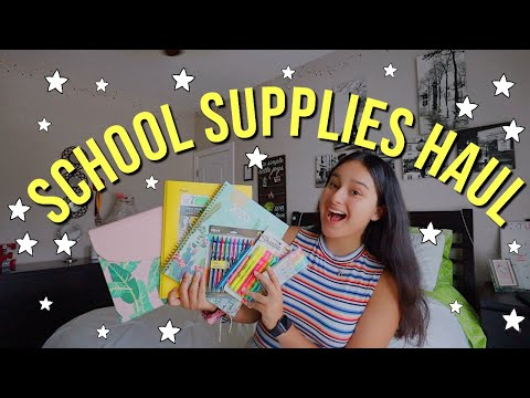 SCHOOL SUPPLIES HAUL | College Edition