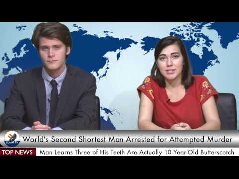 Slant TV: World's Second Shortest Man Arrested for Attempted Murder of World's Shortest Man