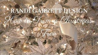 Randi Garrett Design How to Trim a Christmas Tree in Style