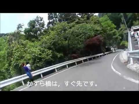 徳島祖谷渓谷のかずら橋と小便 ...