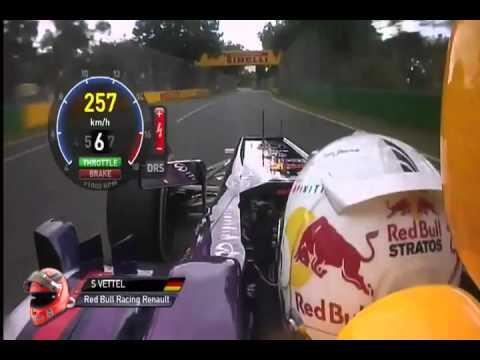 Formula 1 2013 Australia Vettel Onboard Lap [HD] (Formula One Management)