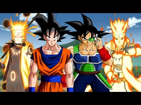 Goku and Bardock vs Naruto and Minato