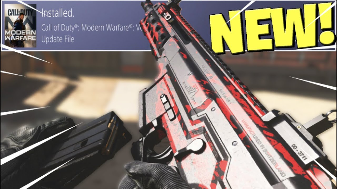 the NEW 1.06 UPDATE in MODERN WARFARE.. thumbnail