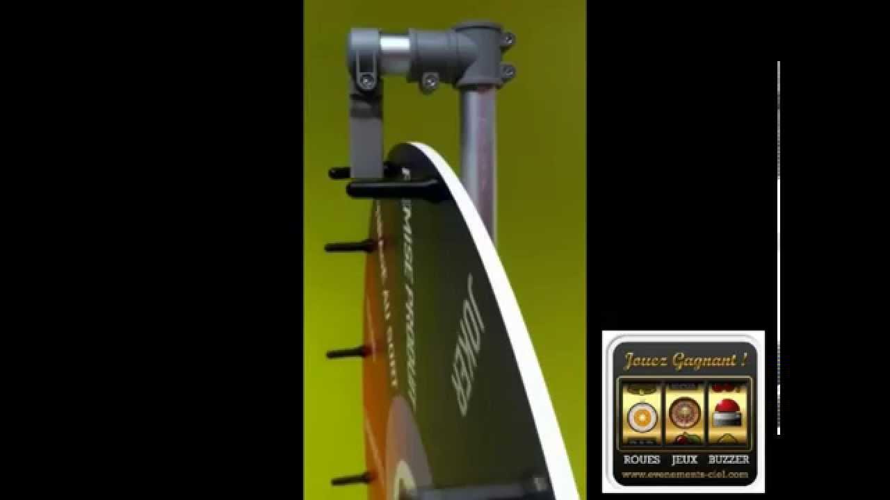 Bevorzugt roue de loterie roue de la chance evenements ciel .avi - YouTube UC89