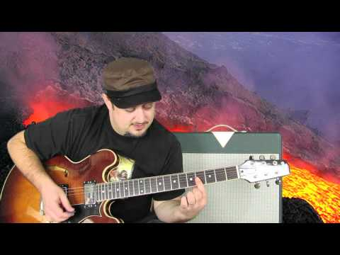 guitar lesson - michael jackson - billie jean - easy guitar beginner songs