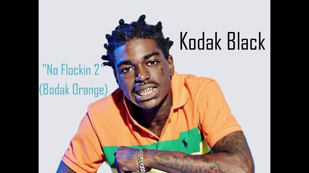 "Download Kodak Black ""No Flockin 2"" (Bodak Orange) - Lyrics Video"