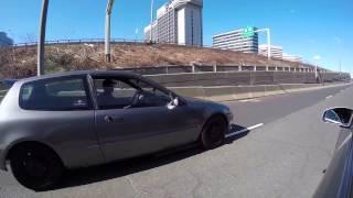 Civic EG Hatch vs G35 Coupe 6MT