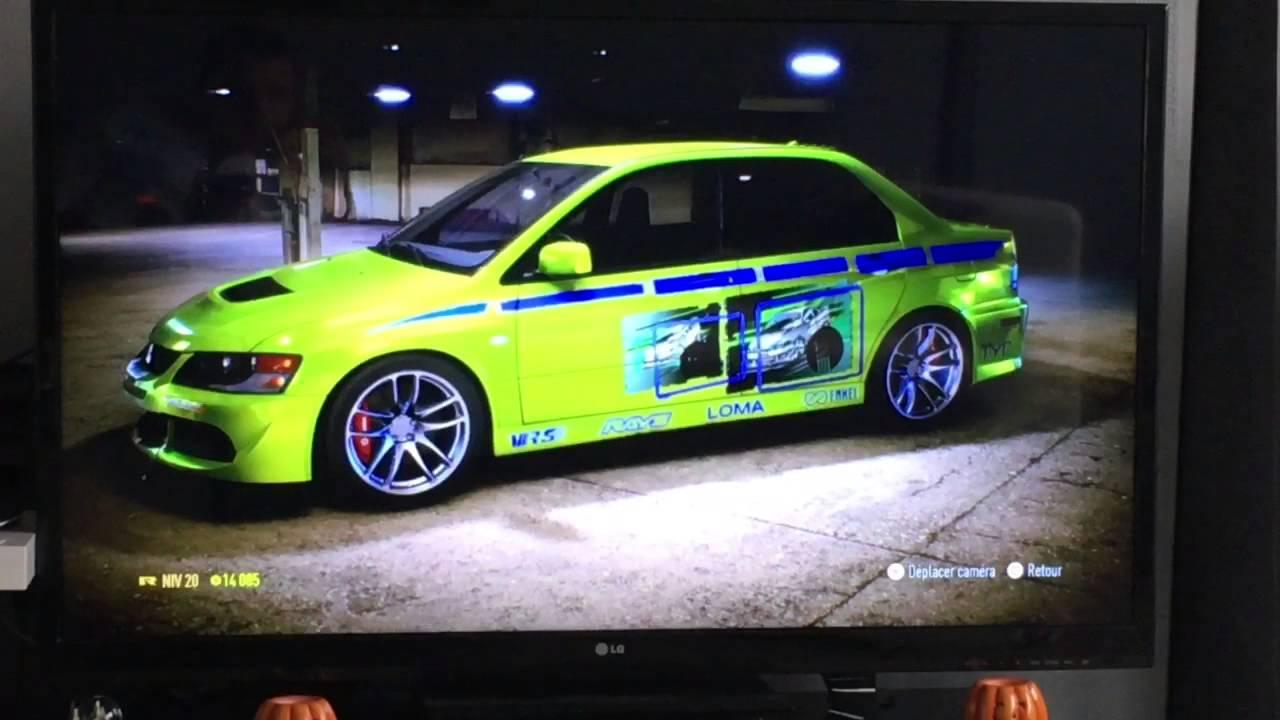 NEED FOR SPEED 2015 (UNDERGROUND 3 )PS4 Mitsubishi Lancer