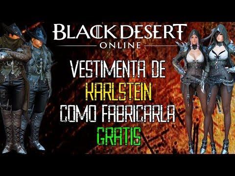 Black Desert - COMO FABRICAR LA VESTIMENTA KARLSTEIN GRATIS | KARLSTEIN COSTUME CRAFT