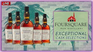 "Foursquare Rum ""Exceptional Cask Selections"" - Redoutable, Détente, Nobiliary, Sagacity, & More! screenshot 5"