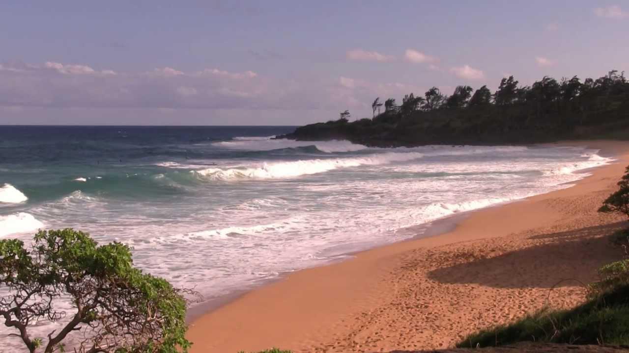 Kauai Hawaii Ocean Waves Hd