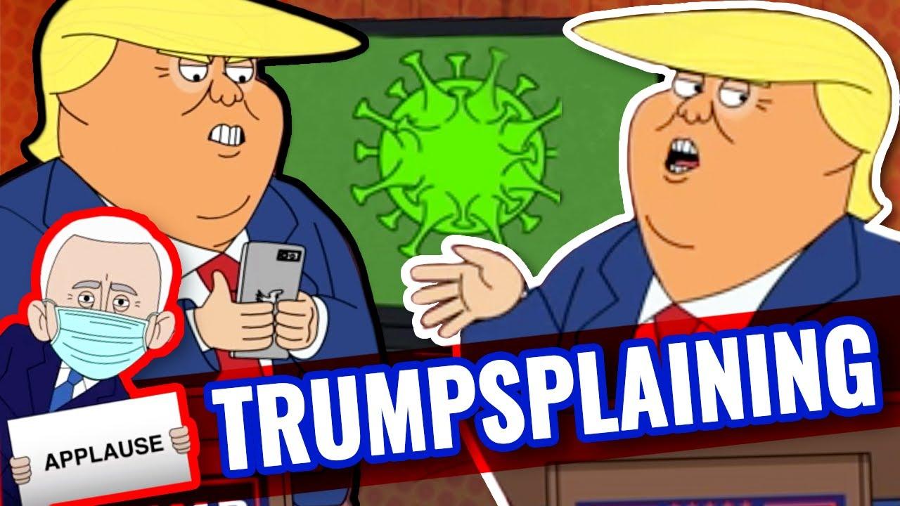 Trump rallies during Covid | Rap Cartoon