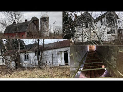 Spooky Abandoned Farmhouse (on State Land)! Upstate, NY!