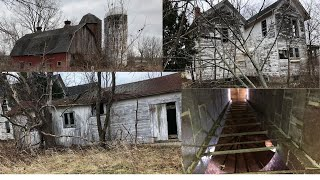 Spooky Abandoned Farmhouse  On State Land ! Upstate, Ny!