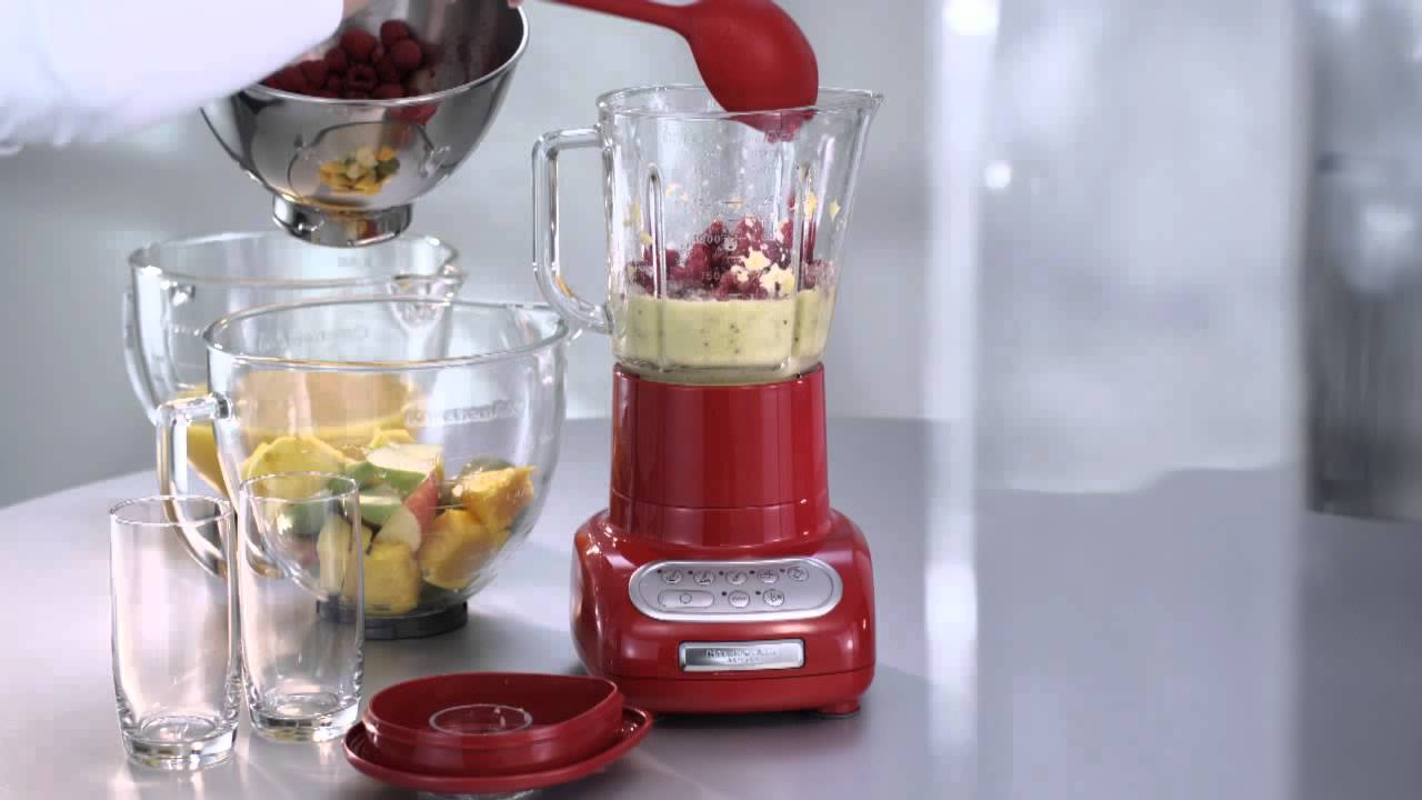 KitchenAid Standmixer 5KSB555 - YouTube