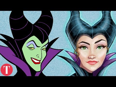 Thumbnail: 10 Disney VILLAINS Reimagined As BEAUTIFUL