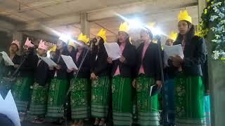 (Gitel nang ka'sa ni ku'rangko)  present by, Rondupara permanent choir.