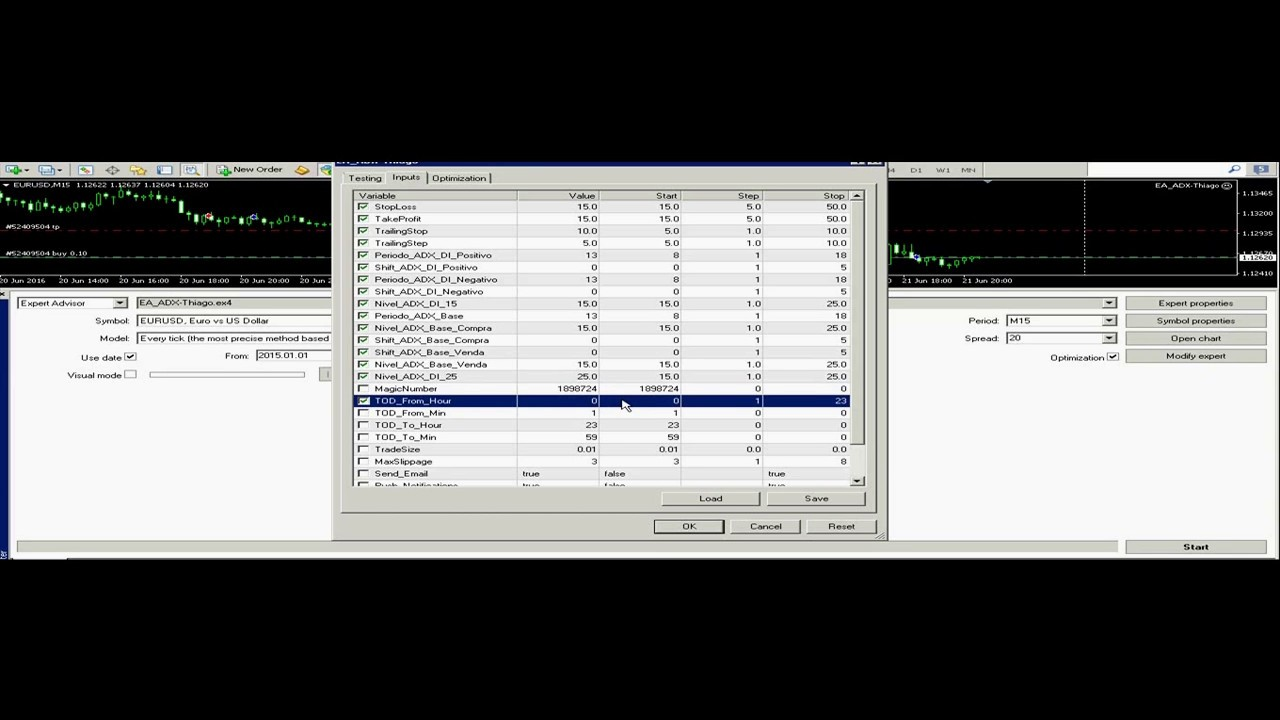 Software for online stock trading