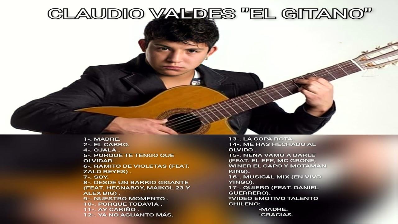 """Download Claudio Valdés """"El Gitano"""" - Sus grandes éxitos"""