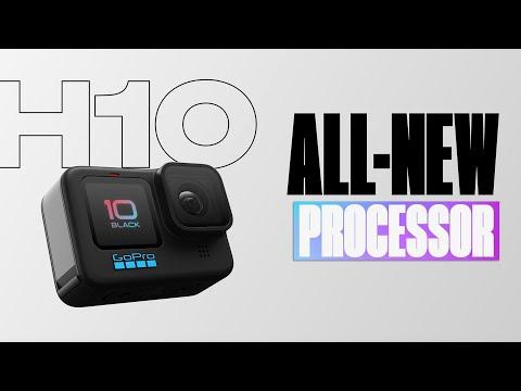 GoPro: HERO10 Black   New GP2 Processor